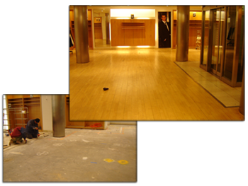 Commercial Retail Flooring Repair and New Installation